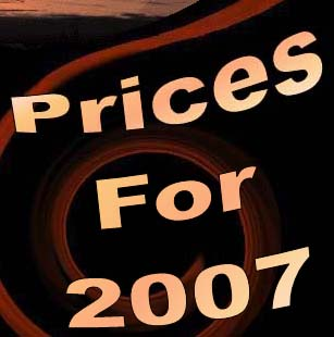 Prices For 2007